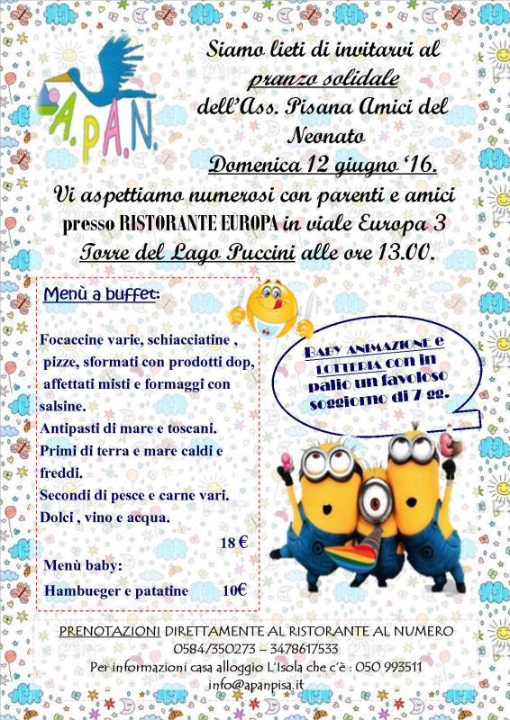 Locandina-invito pranzo sociale e Assemblea Soci